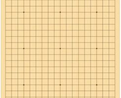 囲碁の碁盤
