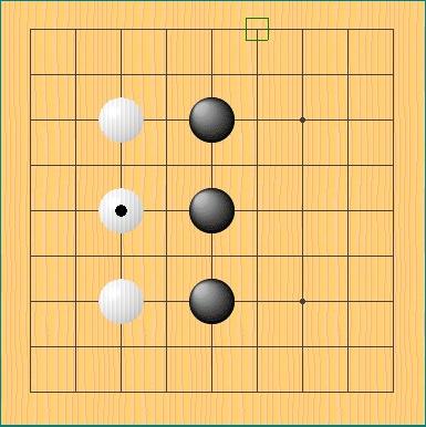 囲碁の棋譜例その2