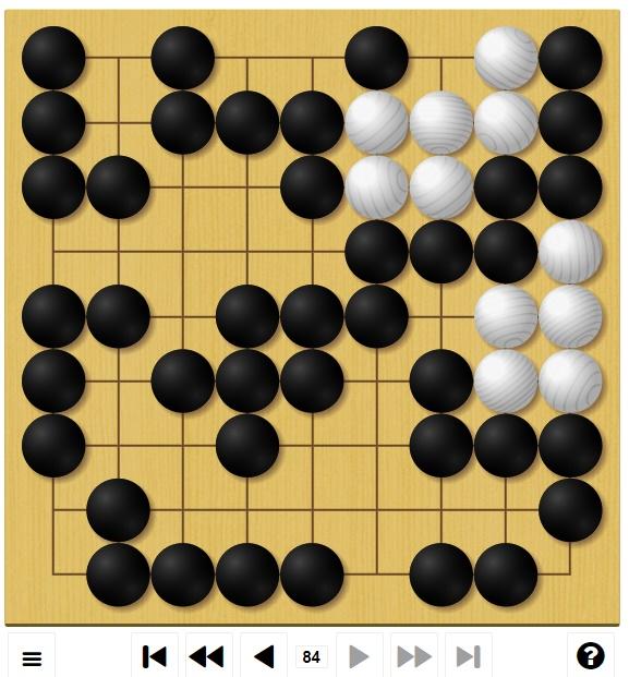 囲碁ゲームGo-Up! 初級編の終局