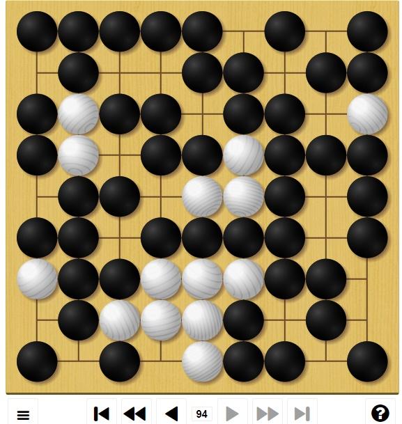 囲碁ゲームGo-Up! 中級編3局目